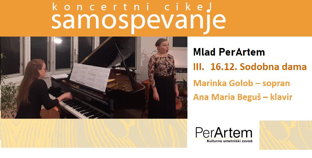 Sodobna dama s sopranistko Marinko Golob in pianistko Ano Marijo Beguš